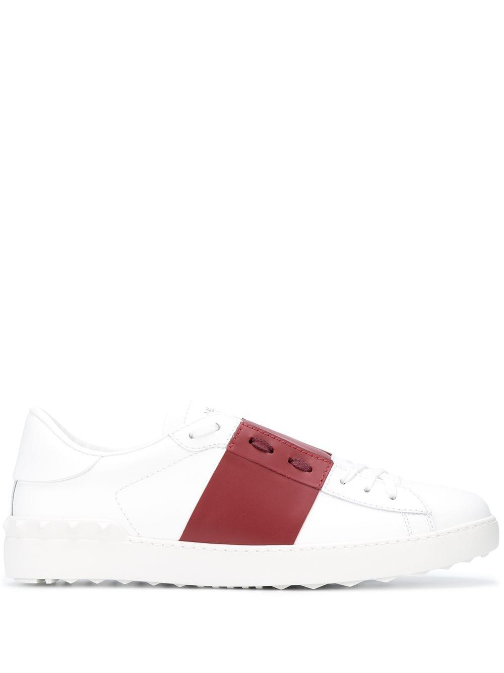 VALENTINO GARAVANI- Open Sneakers- Man- 42½ - White