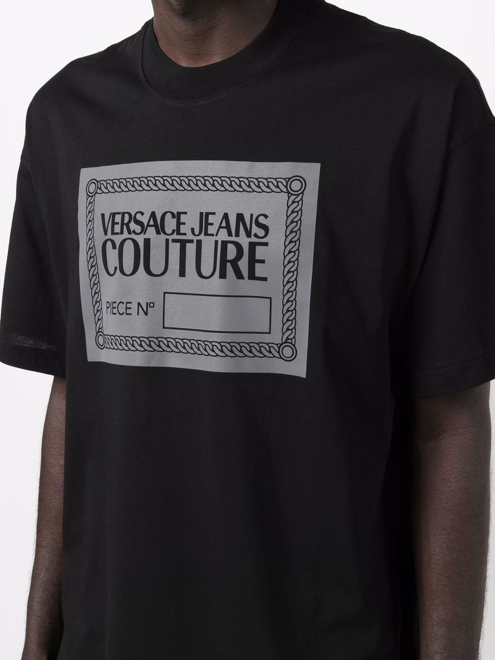 Versace jeans couture t-shirt e polo nero - Versace Jeans Couture