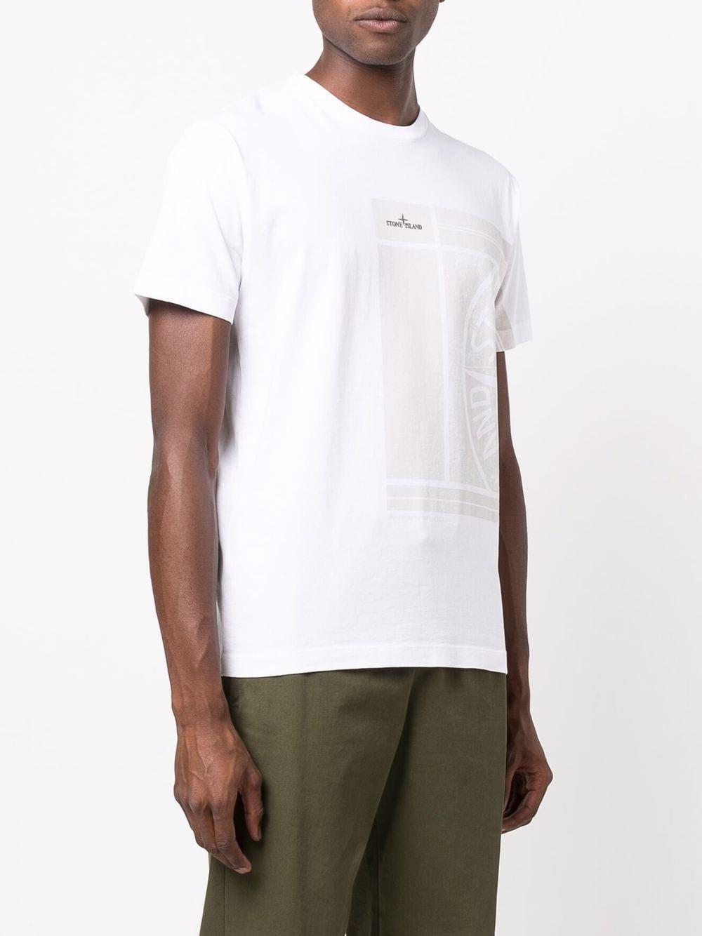 Stone island t-shirt e polo bianco - Stone Island