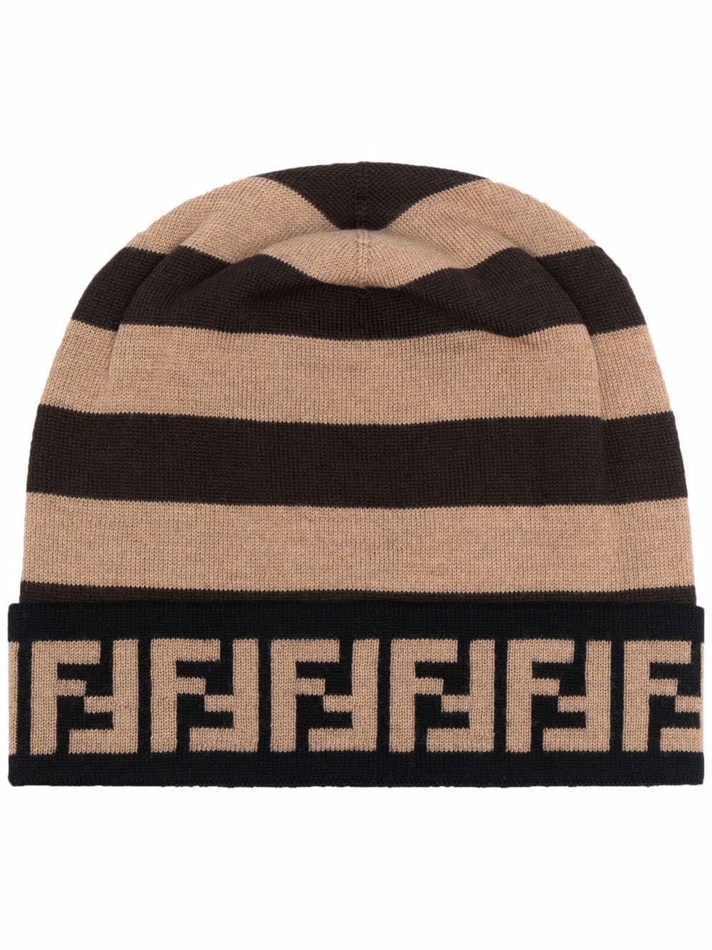 Fendi cappelli marrone - Fendi