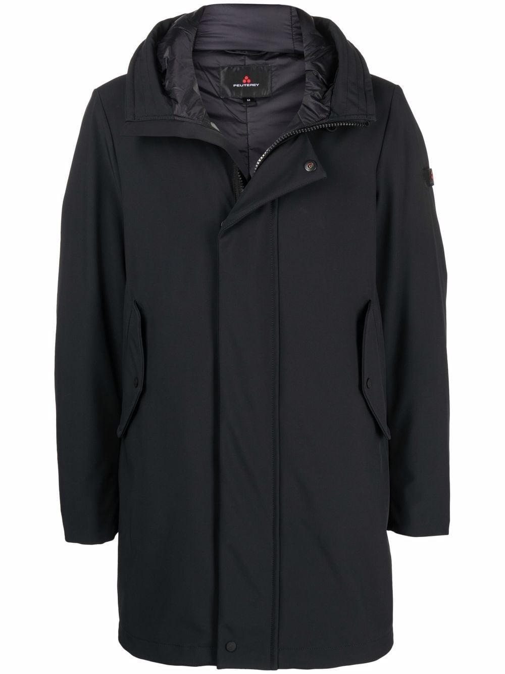 PEUTEREY- Peuterey Coats Black- Man- Xl - Black