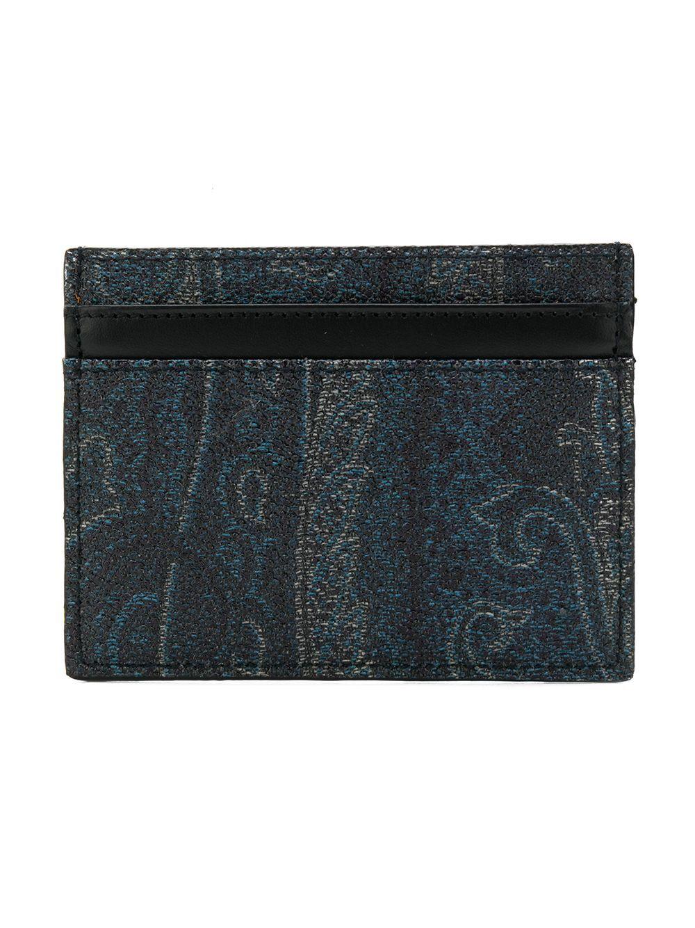 Etro portafogli blu - Etro