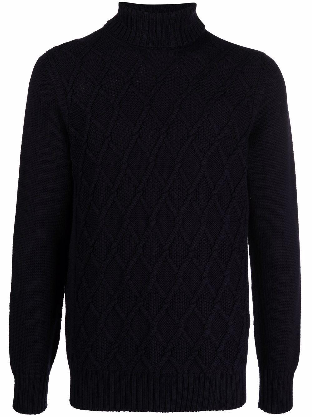 DRUMOHR- Drumohr Sweaters Blue- Man- 48 - Blue