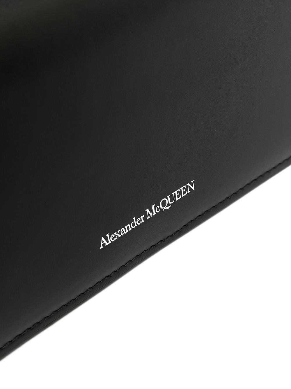 Clutch story book in pelle - Alexander Mcqueen