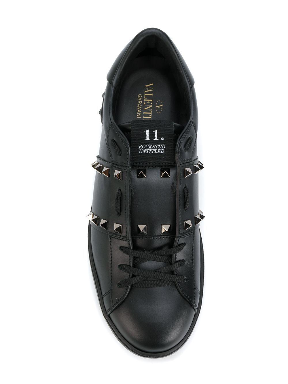 Sneaker rockstud untitled in pelle - Valentino Garavani
