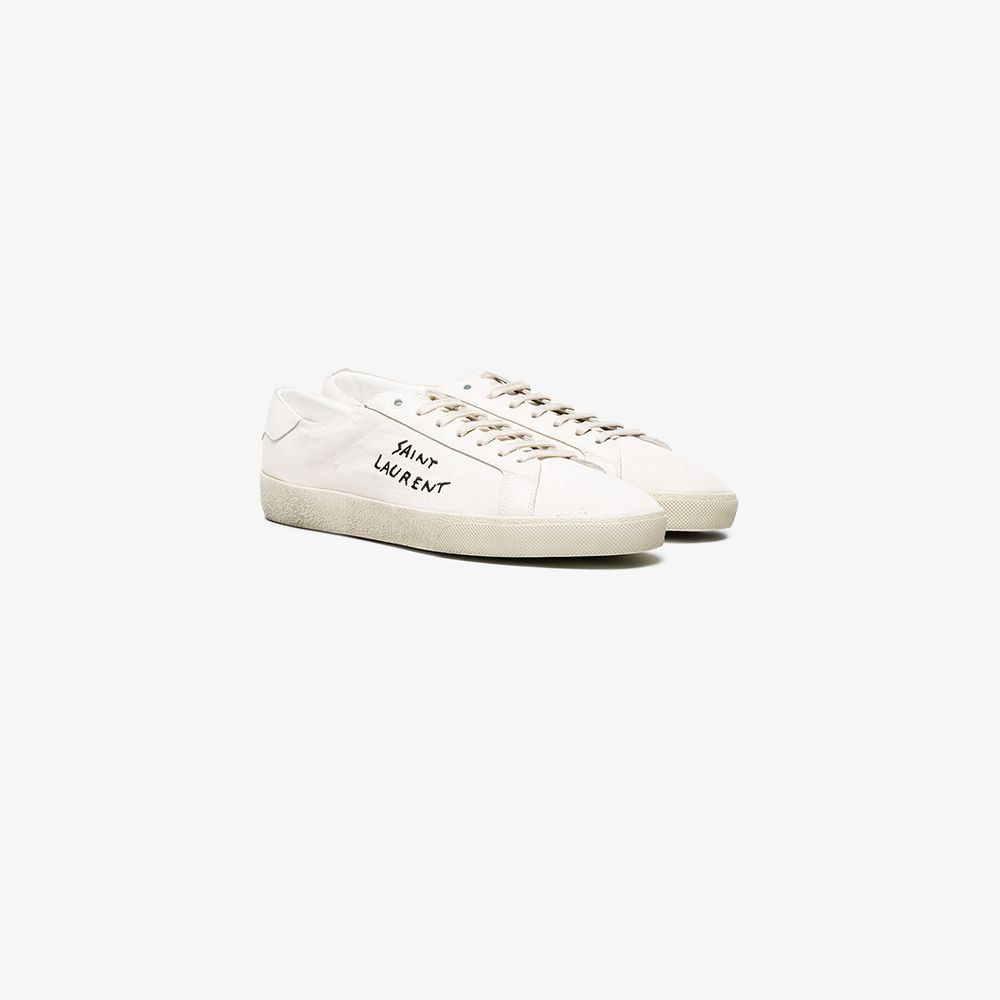 Sneaker court signature - Saint Laurent