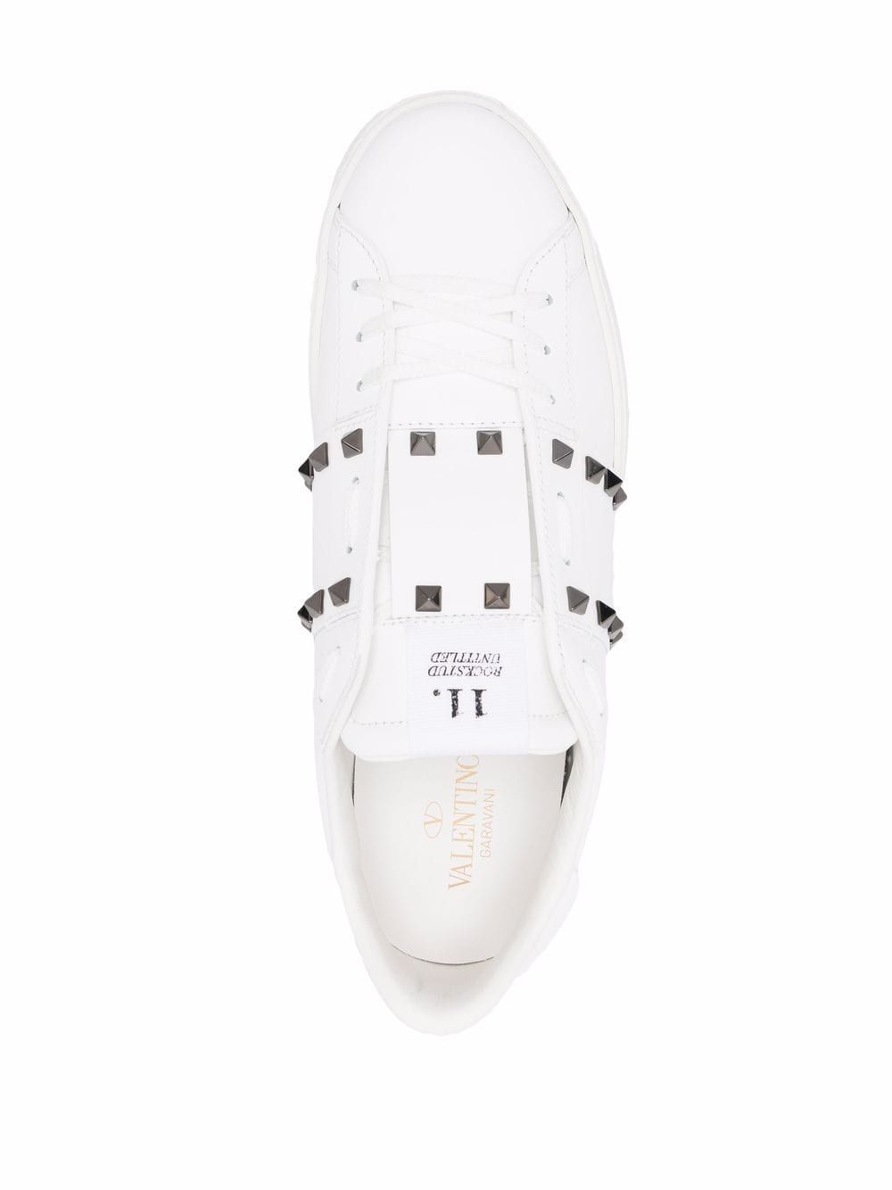 Sneaker rockstud untitled in pelleundefined