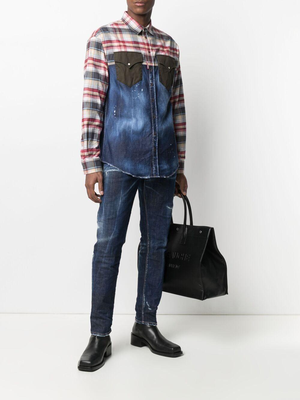 Jeans skater in cotone - Dsquared2