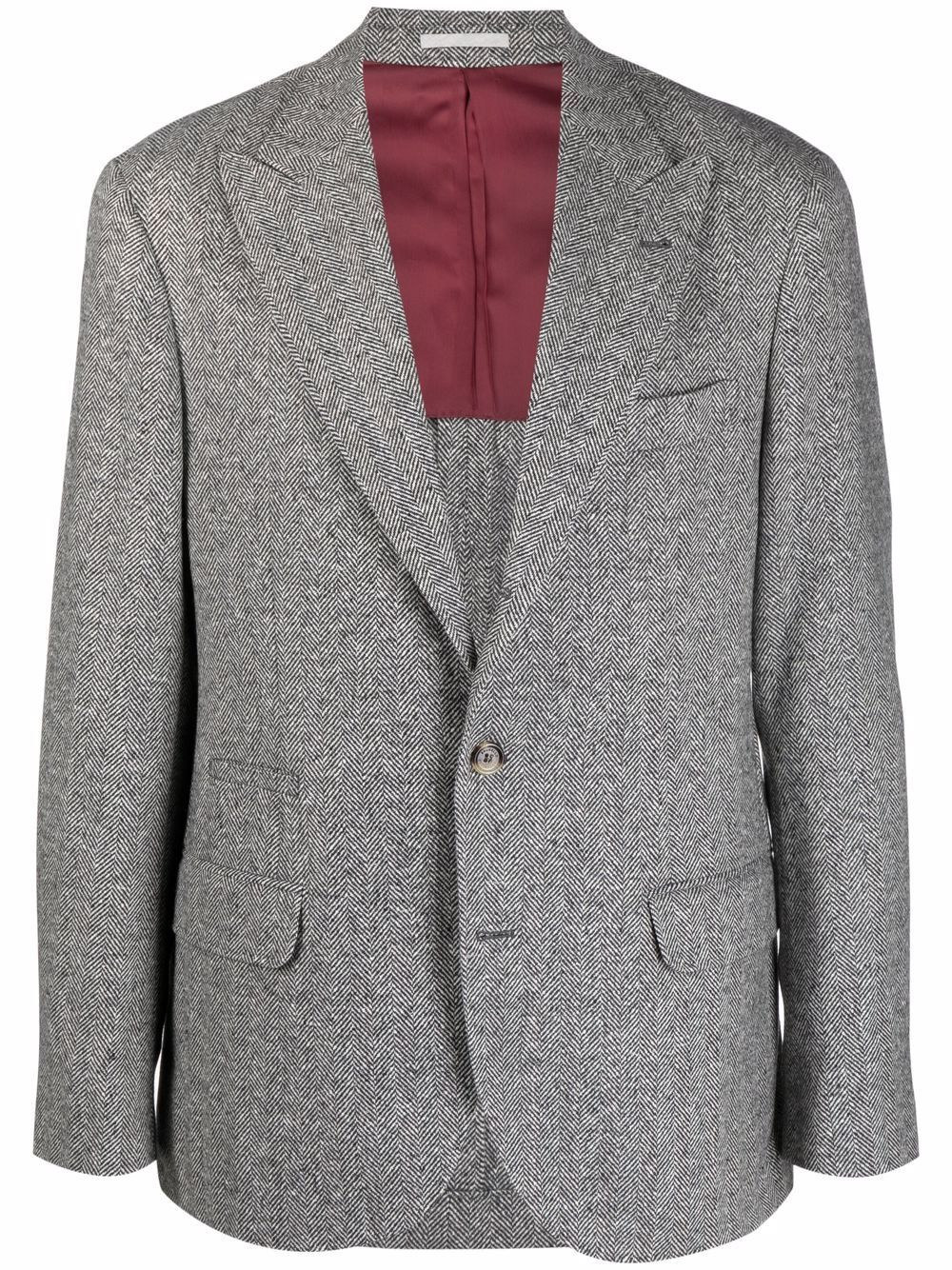 Giacca in lana - Brunello Cucinelli