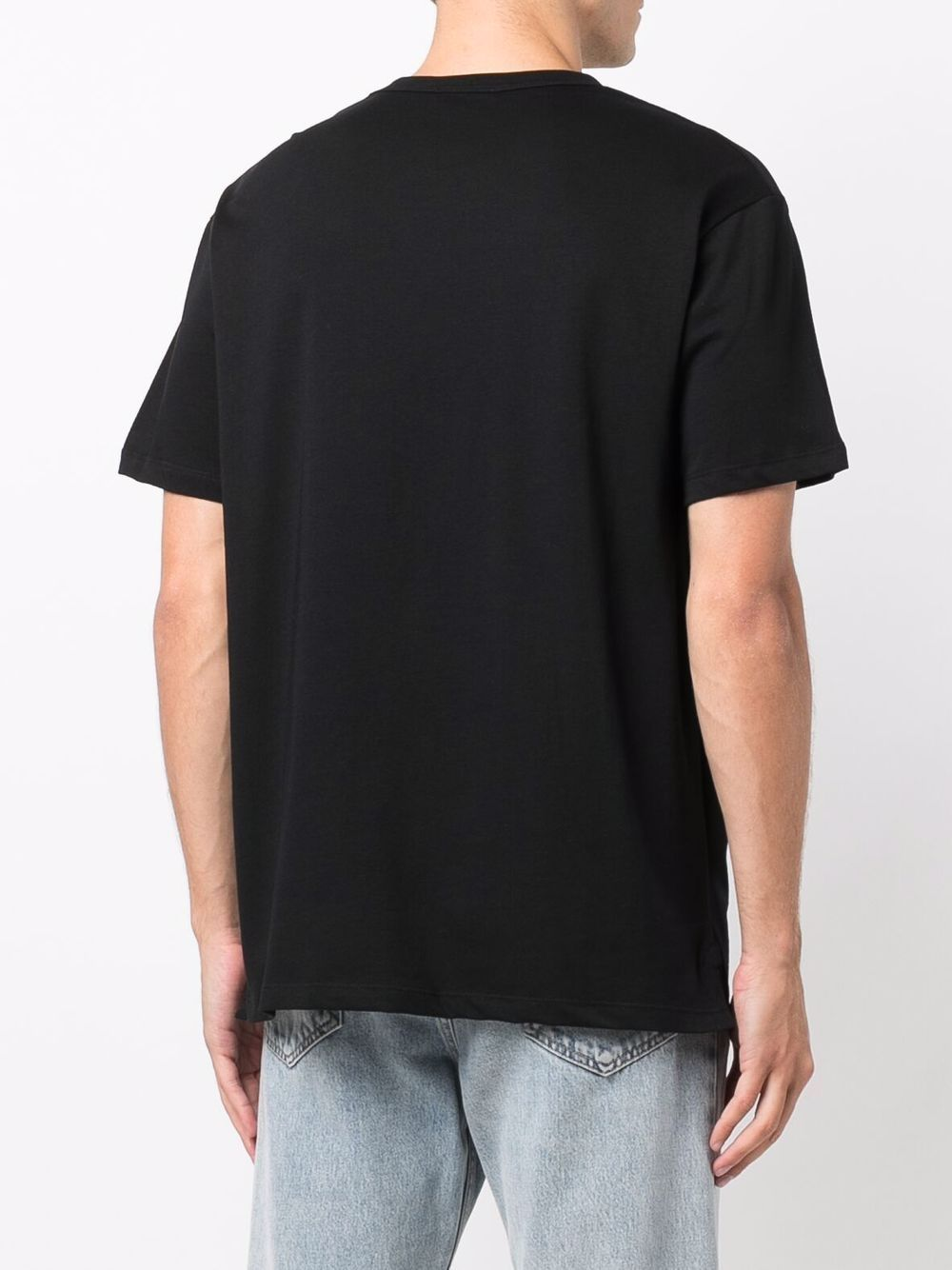 T-shirt in cotone con teschio - Alexander Mcqueen