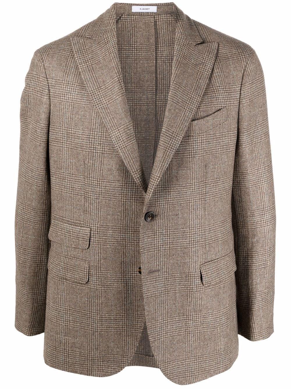 BOGLIOLI- Wool Jacket- Man- 54 - Beige