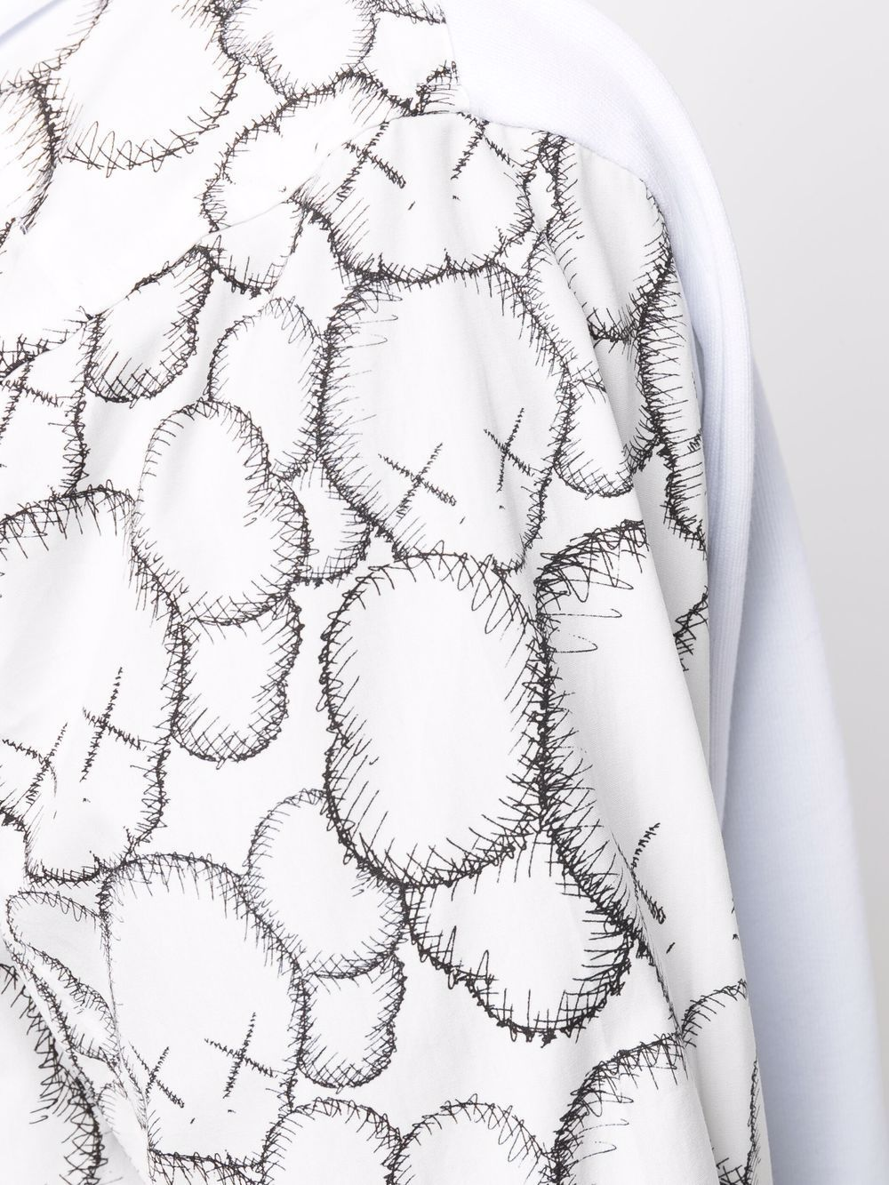 Felpa stampata in cotone - Comme Des Garcons