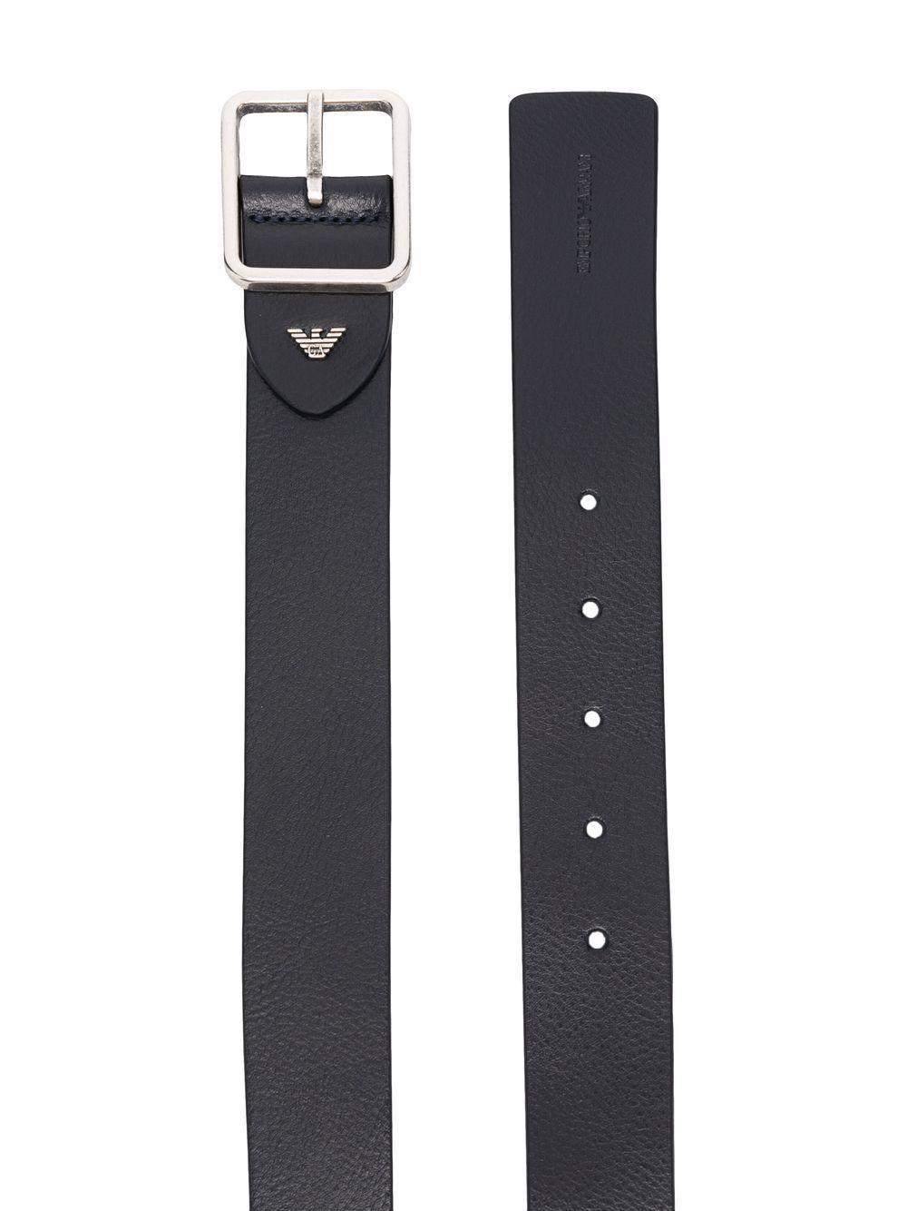 Cintura in pelle - Emporio Armani