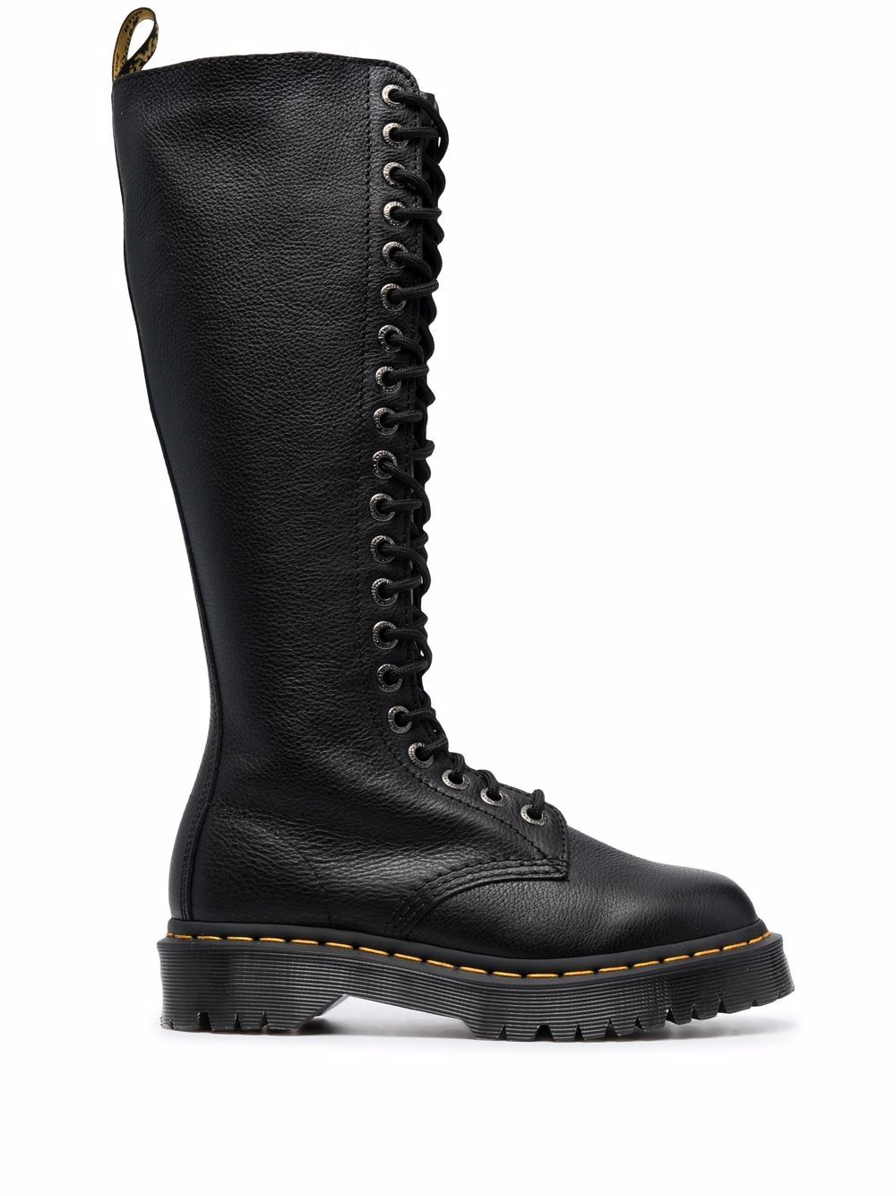 DR. MARTENS- Leather Ankle Boots- Woman- 6½ - Black