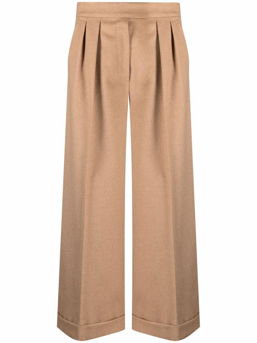 MAX MARA- Micio Trousers- Woman- 40 - Brown