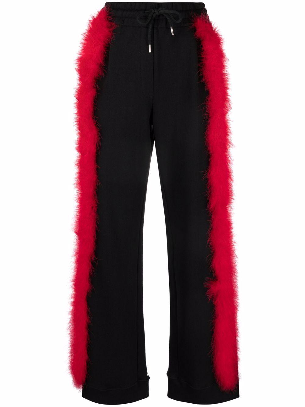 DRIES VAN NOTEN- Hansens Cotton Trousers- Woman- M - Black