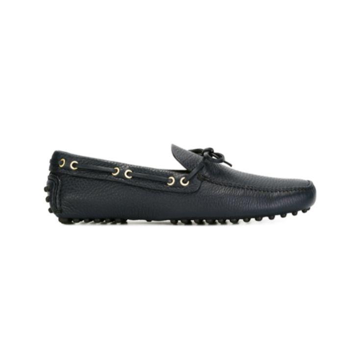 Car shoe scarpe basse blu
