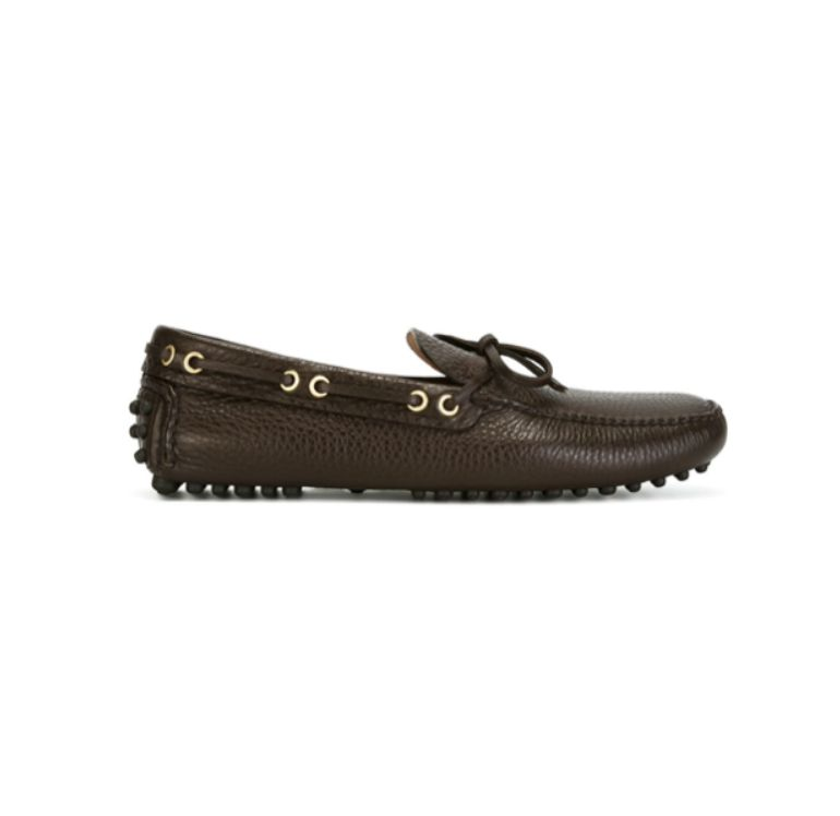 Car shoe scarpe basse marrone