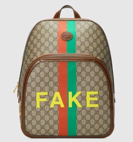 Zaino fake not
