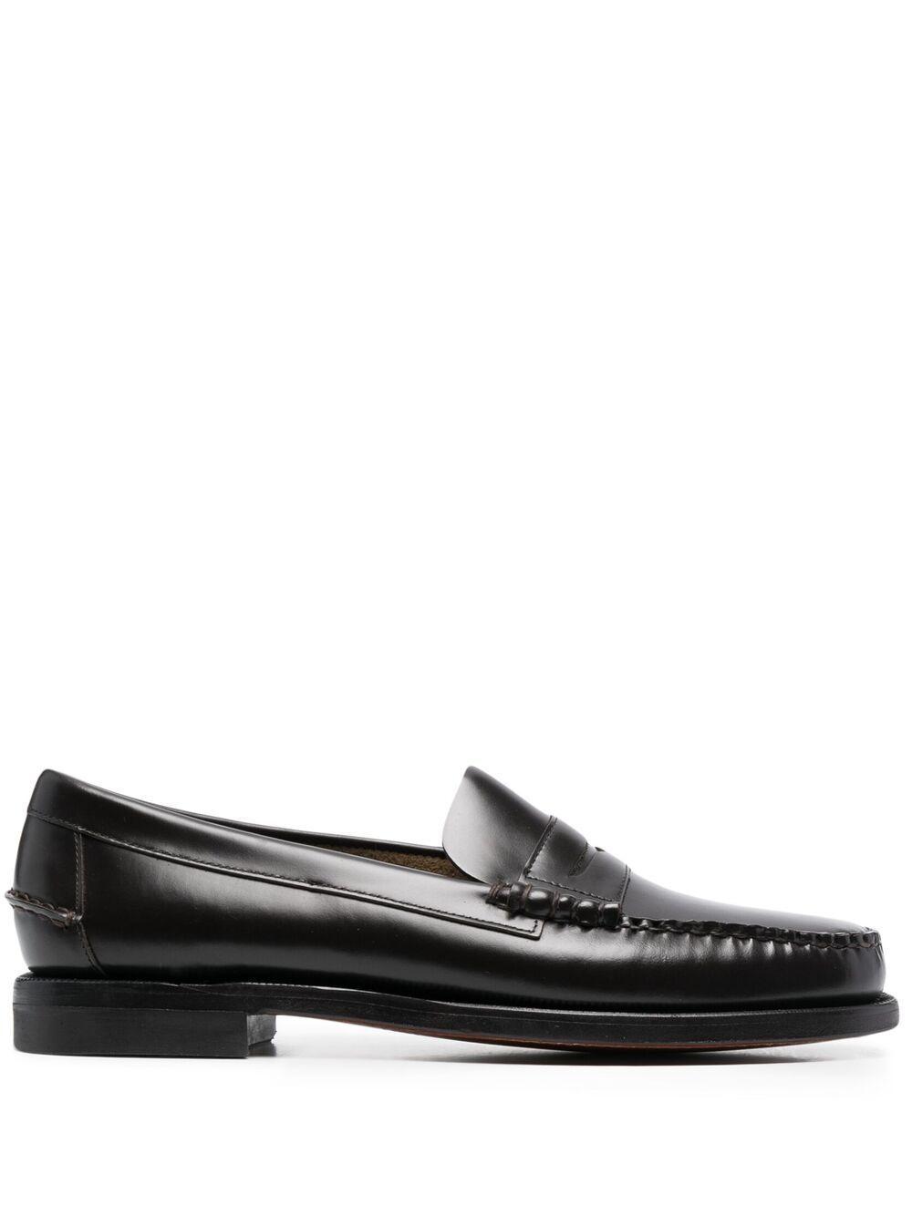 Sebago scarpe basse marrone scuro