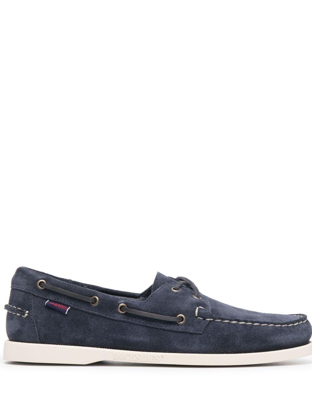 Sebago scarpe basse blu