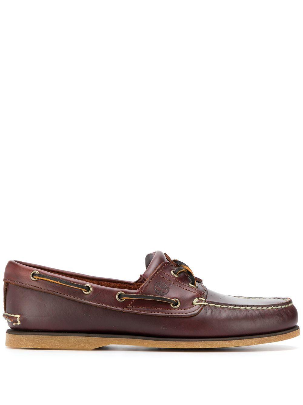 Timberland scarpe basse marrone