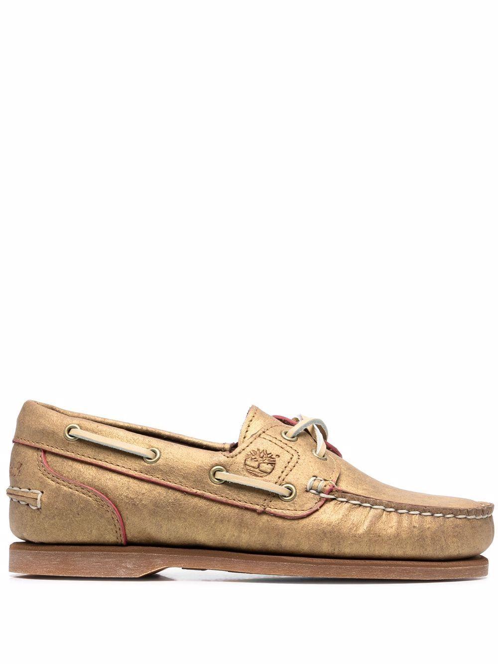 Timberland scarpe basse oro