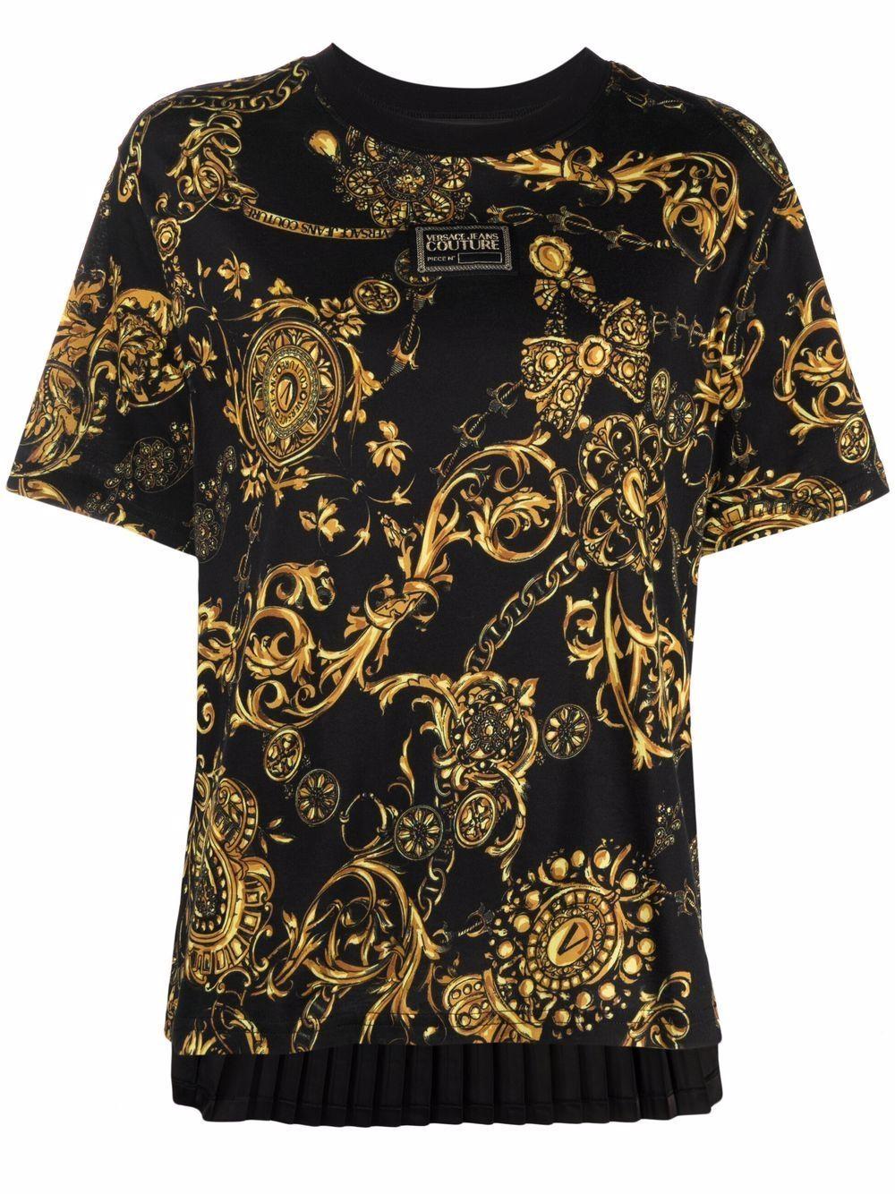 Versace jeans couture t-shirt e polo nero