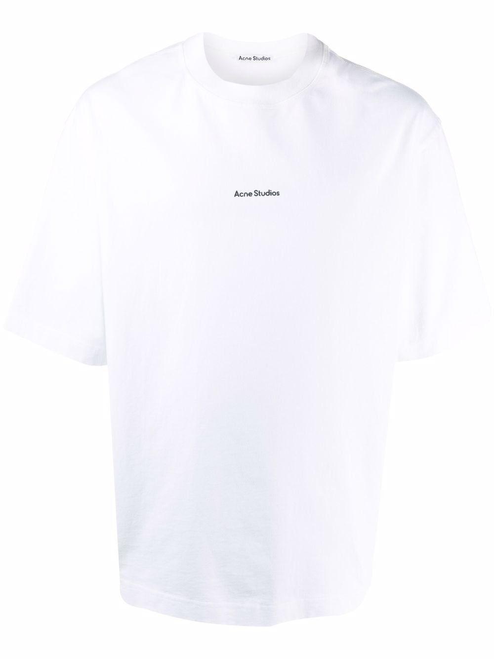 Acne studios t-shirt e polo bianco