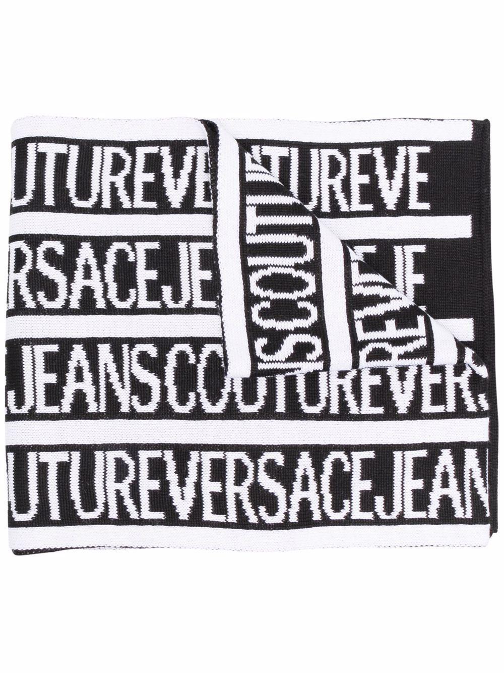 Versace jeans couture sciarpe nero