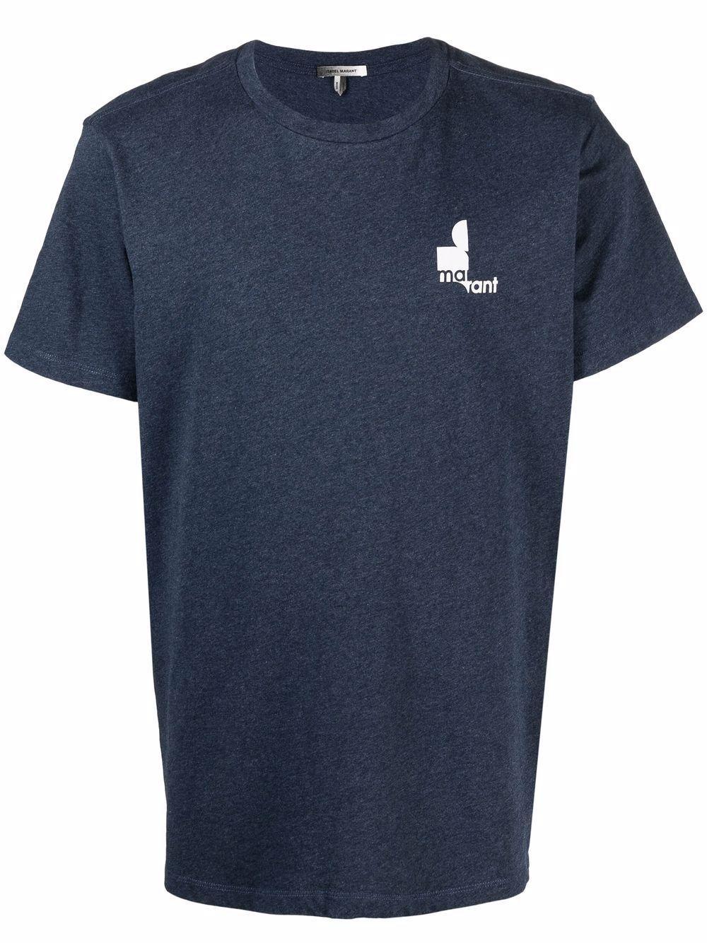 Isabel marant t-shirt e polo blu