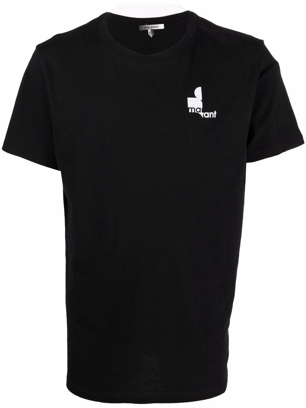 Isabel marant t-shirt e polo nero