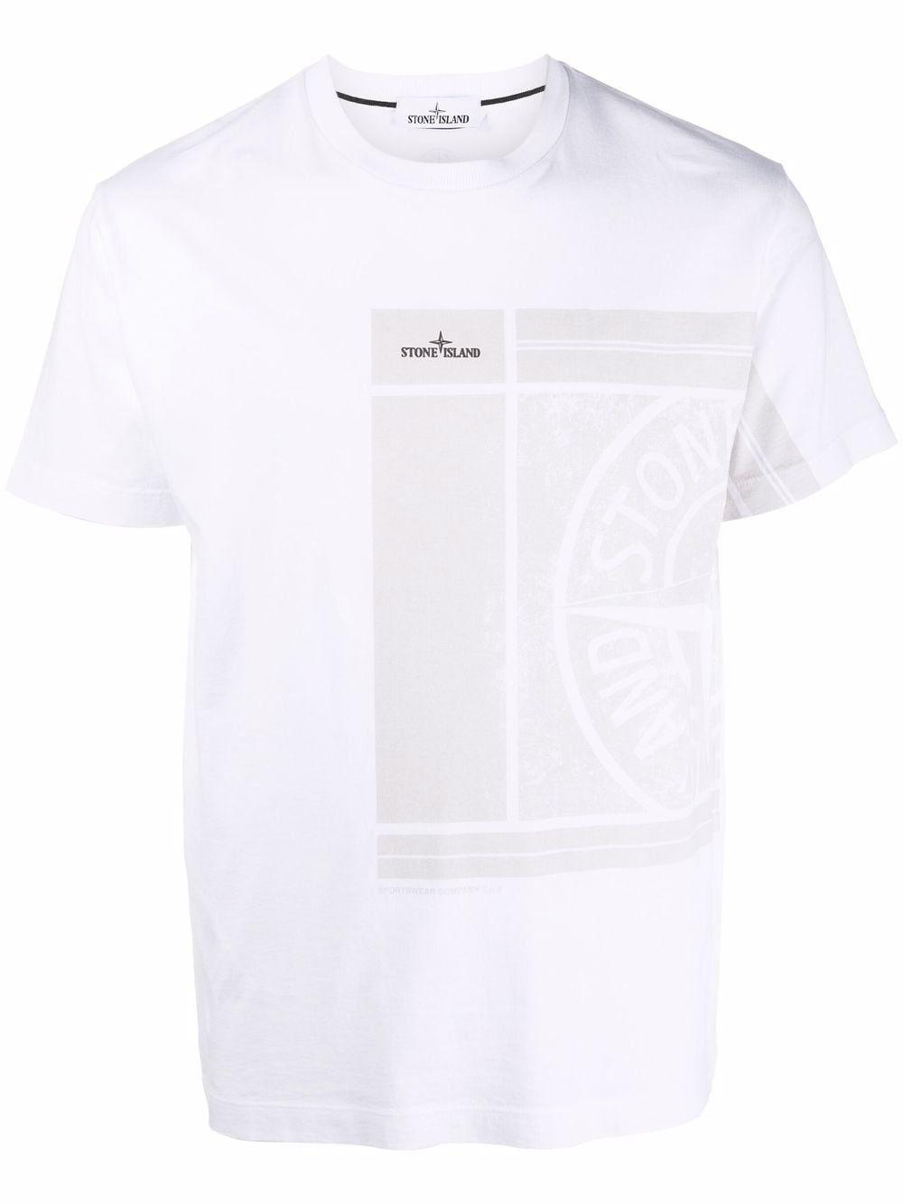 Stone island t-shirt e polo bianco