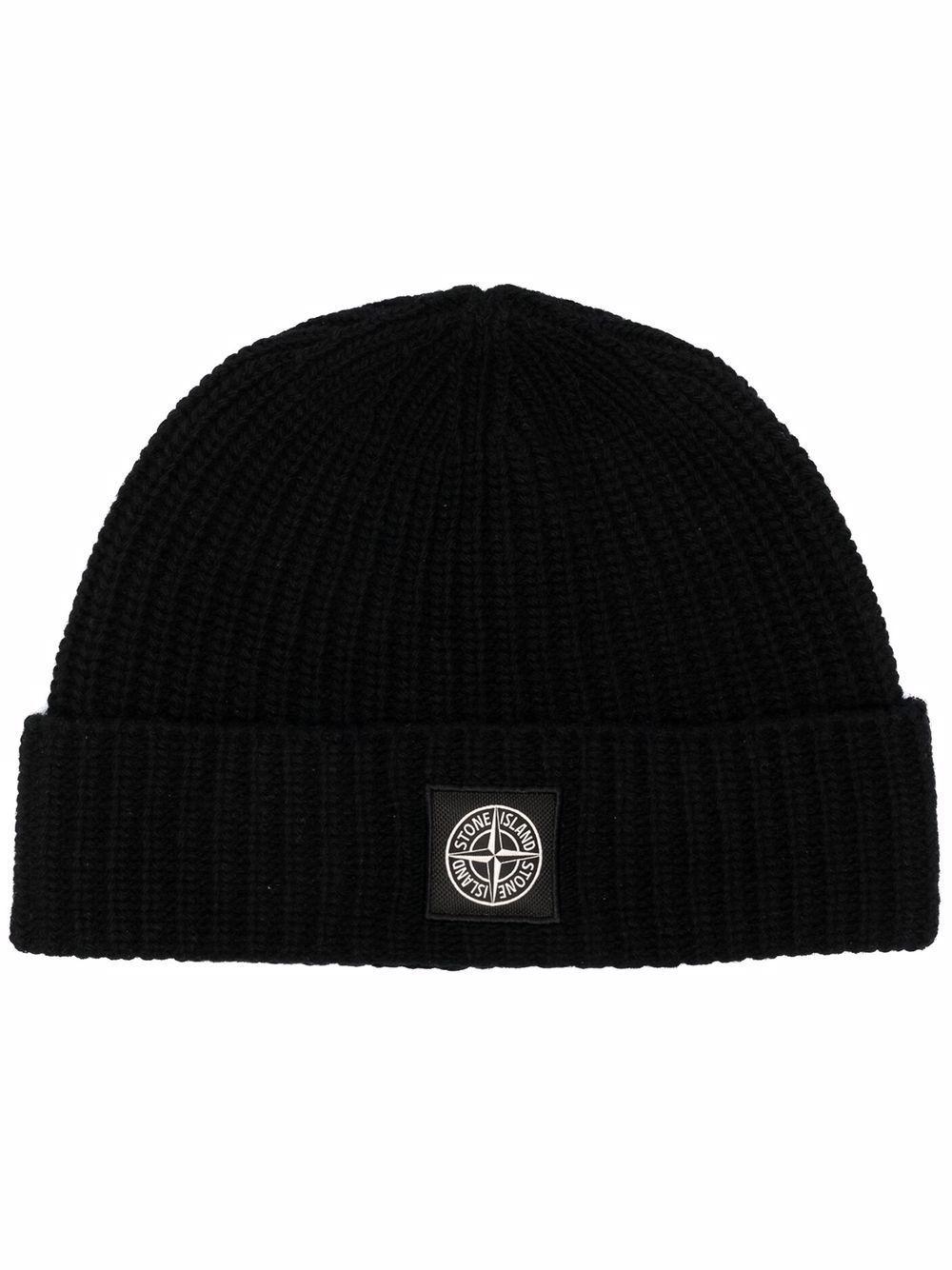 Stone island cappelli nero