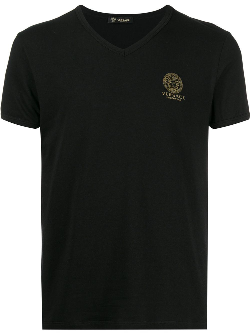 Versace t-shirt e polo nero