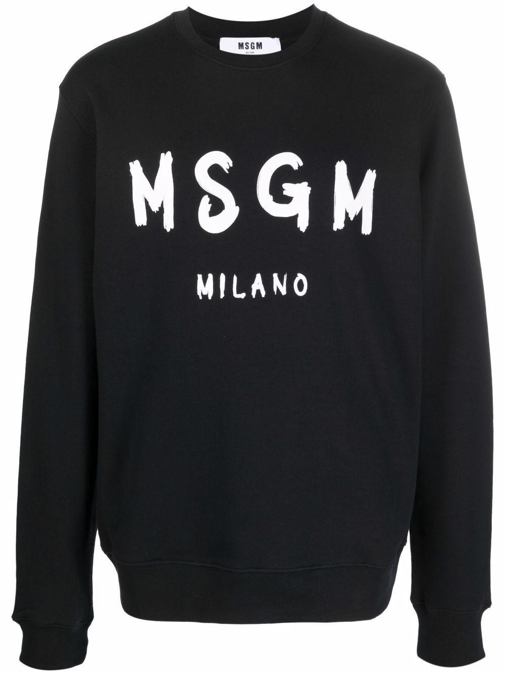 Msgm maglie nero