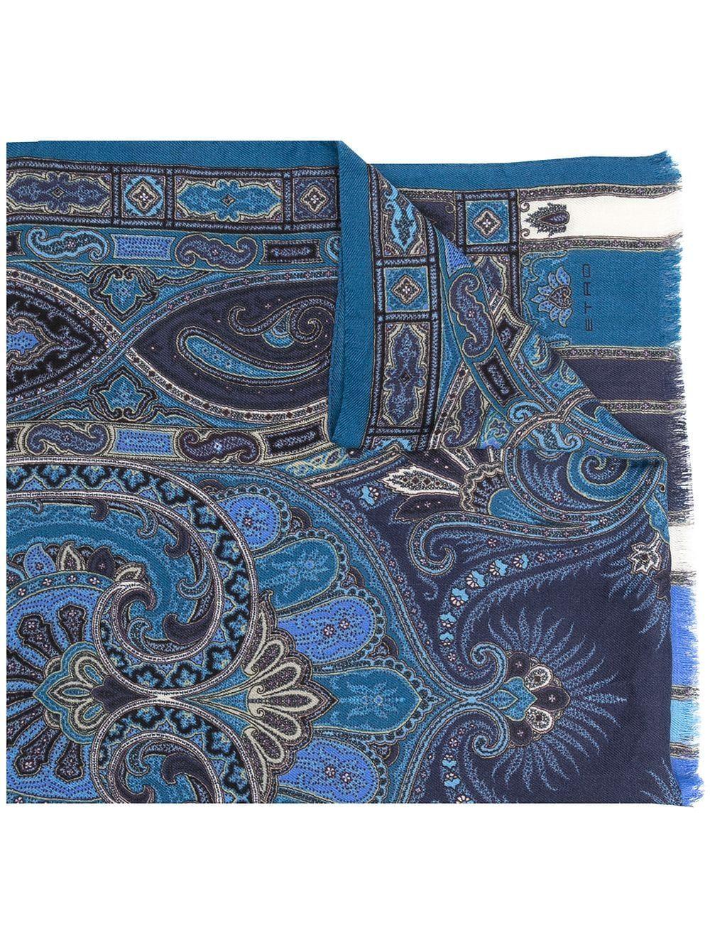 Etro sciarpe blu