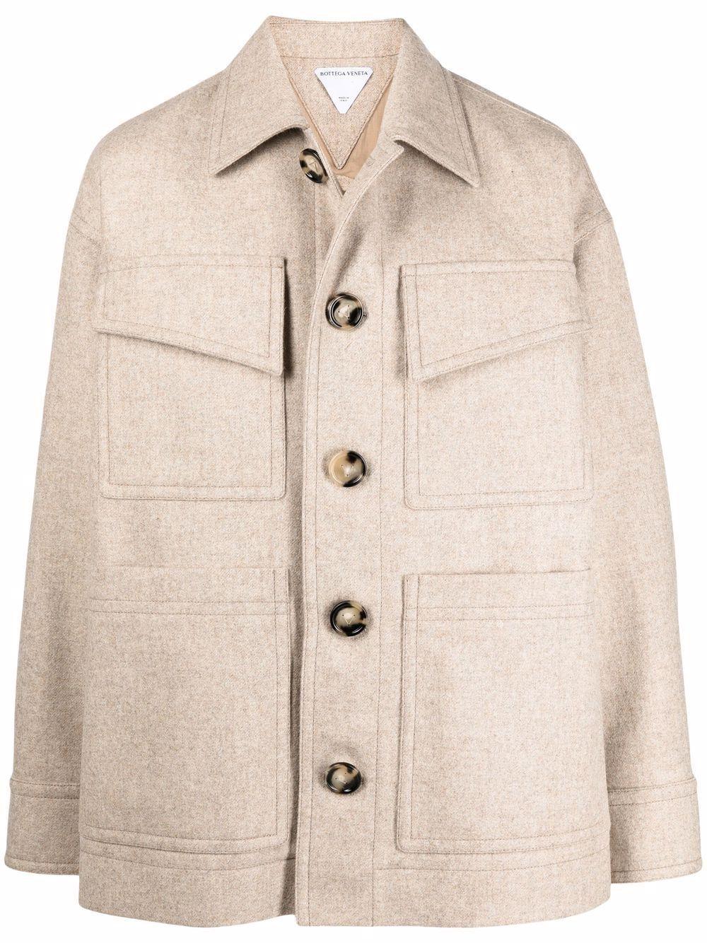 Bottega veneta giacconi beige