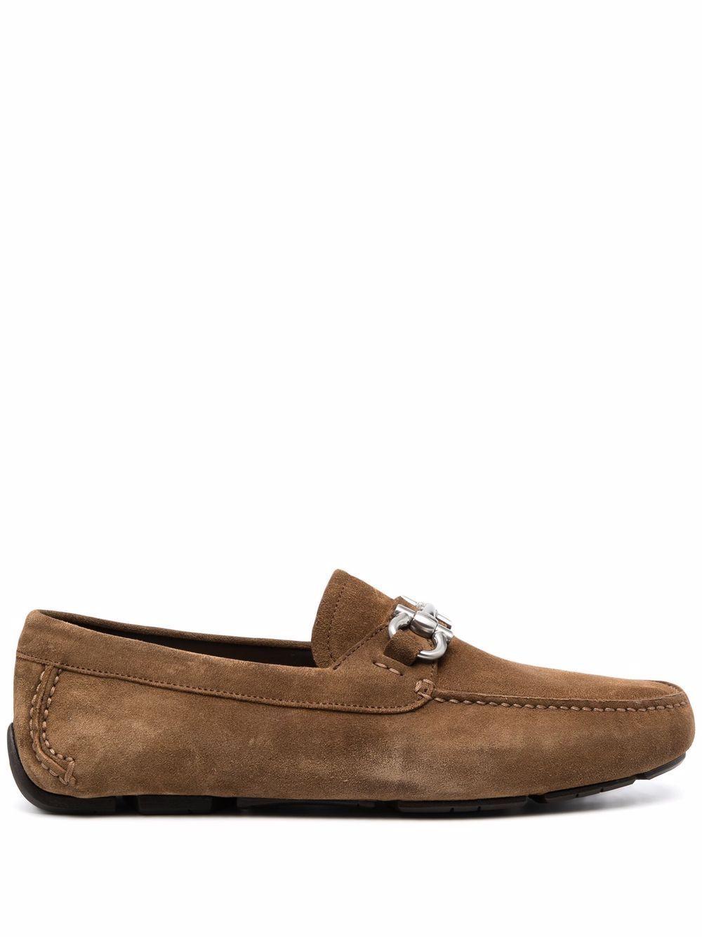 Salvatore ferragamo scarpe basse marrone