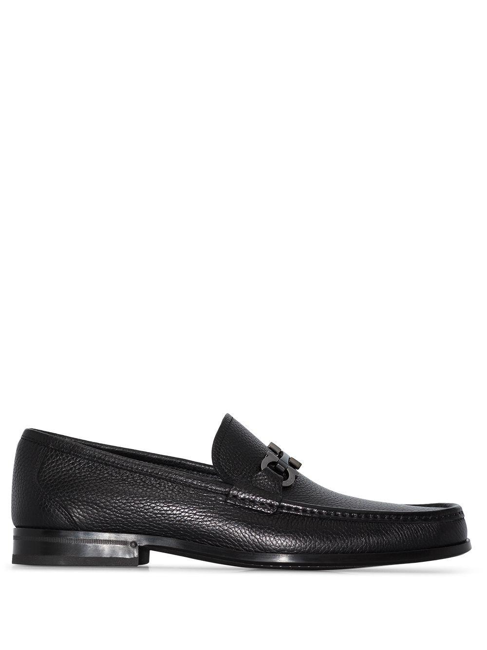 Salvatore ferragamo scarpe basse nero