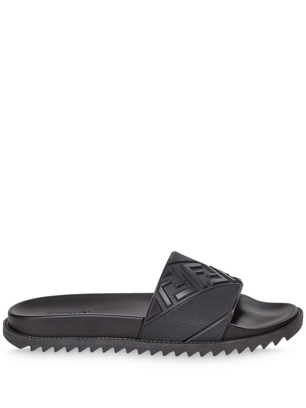 Fendi sandali nero