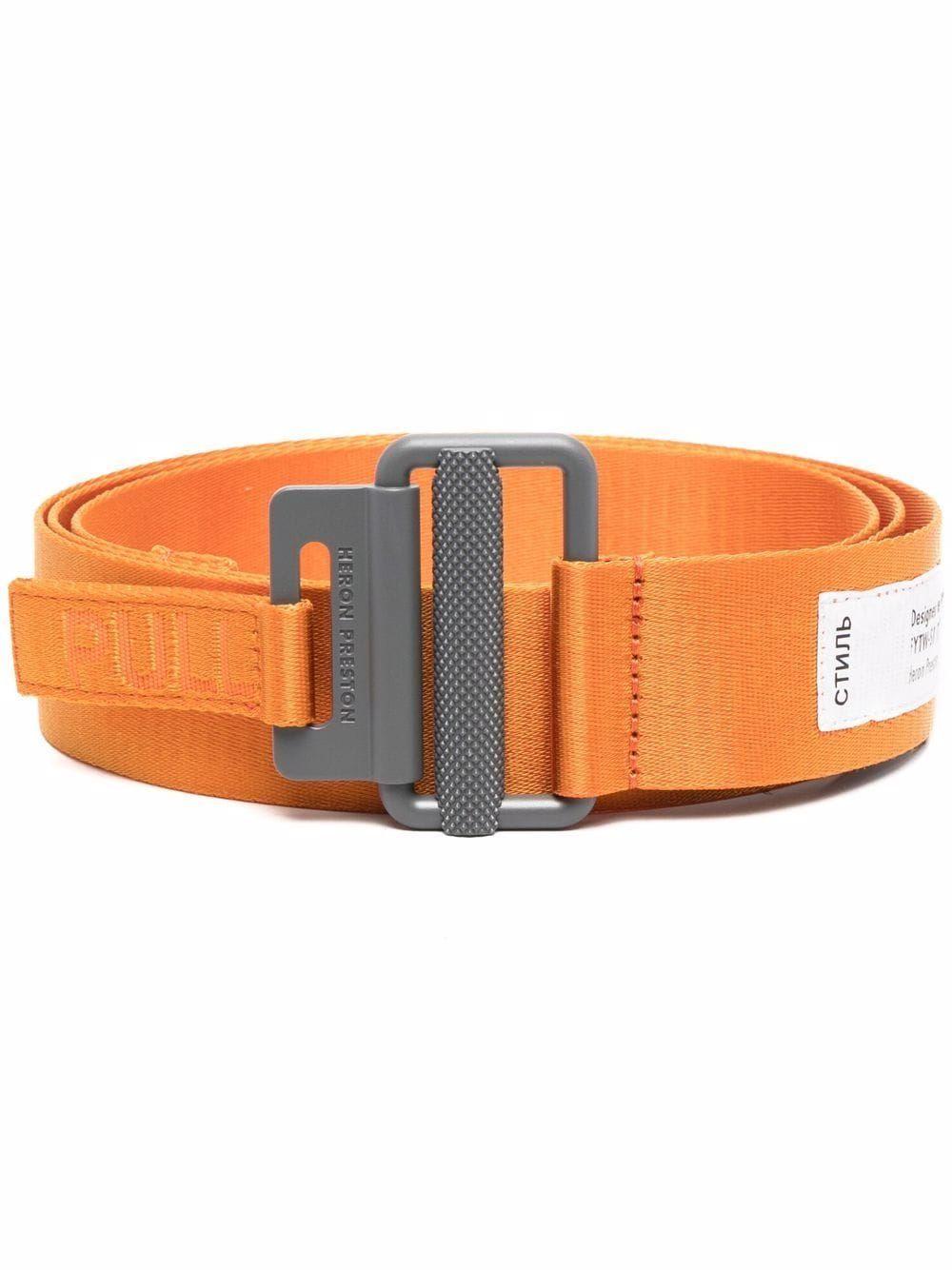 Heron preston cinture arancio