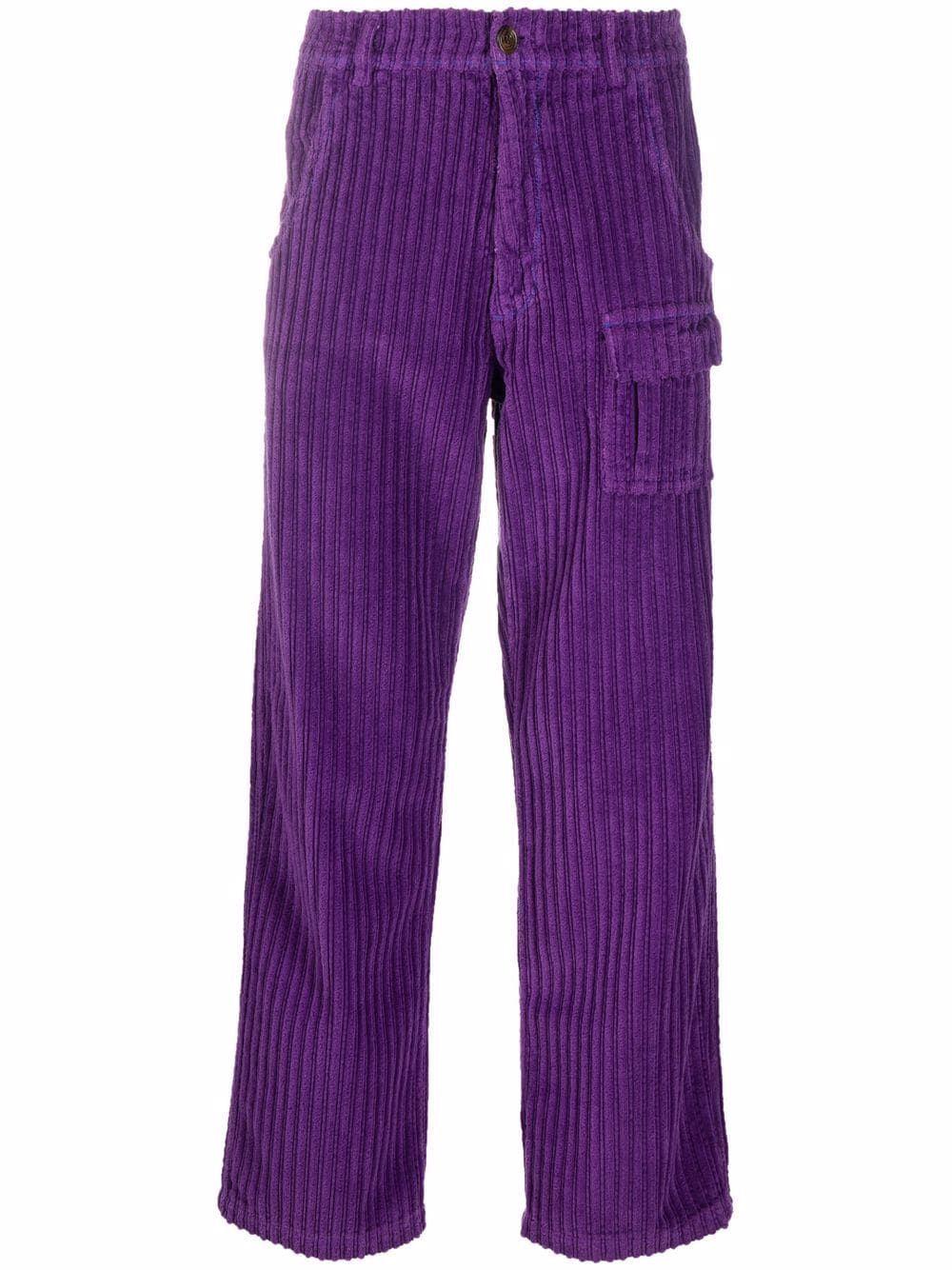 Erl pantaloni viola