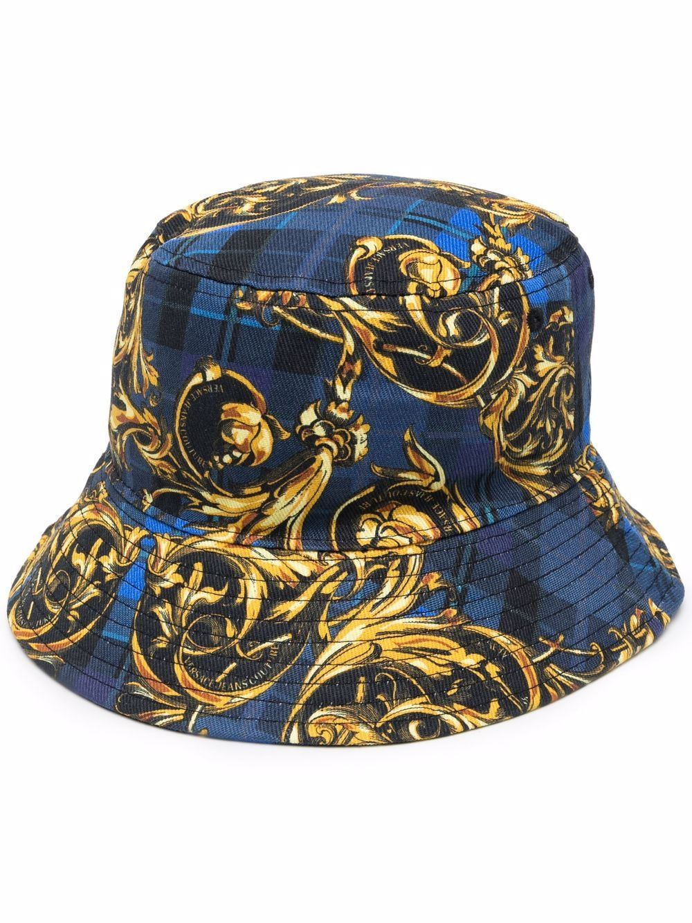 Versace jeans couture cappelli blu