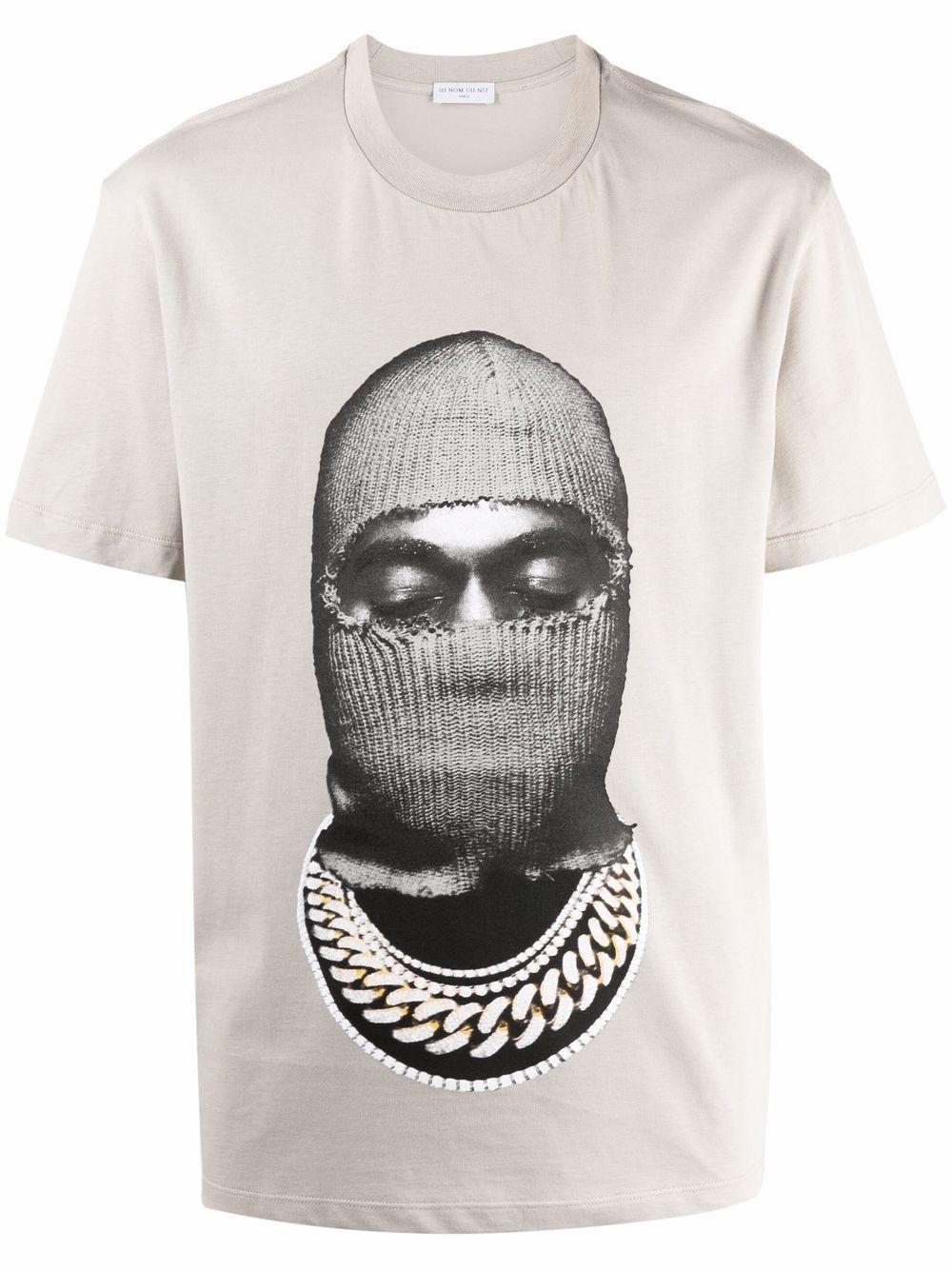 Ih nom uh nit t-shirt e polo grigio