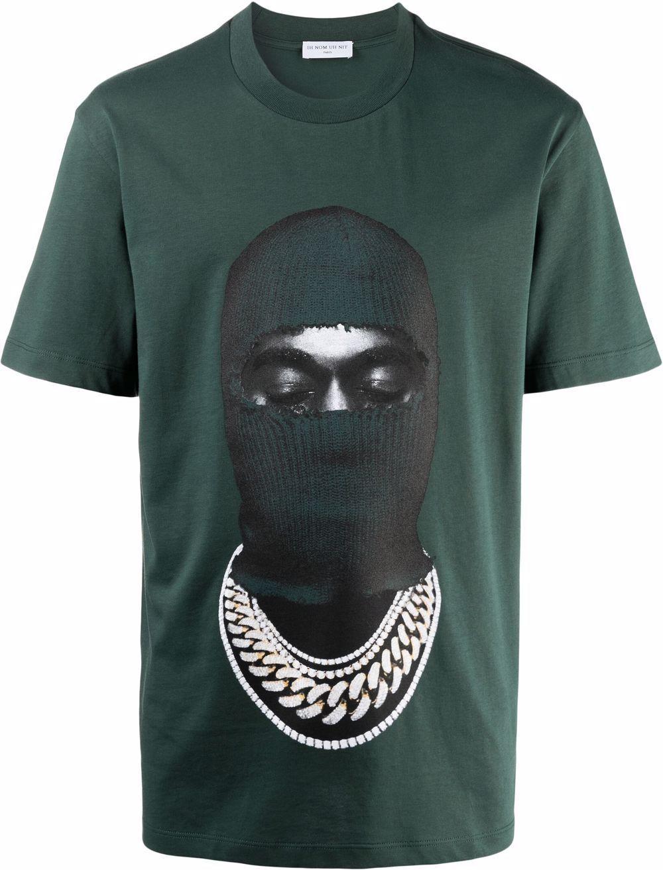 Ih nom uh nit t-shirt e polo verde