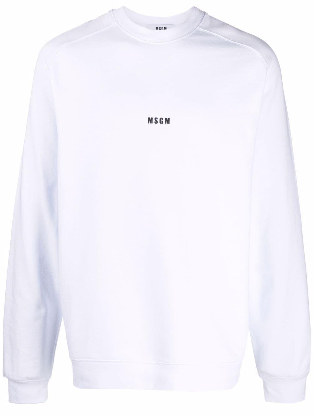 Msgm maglie bianco