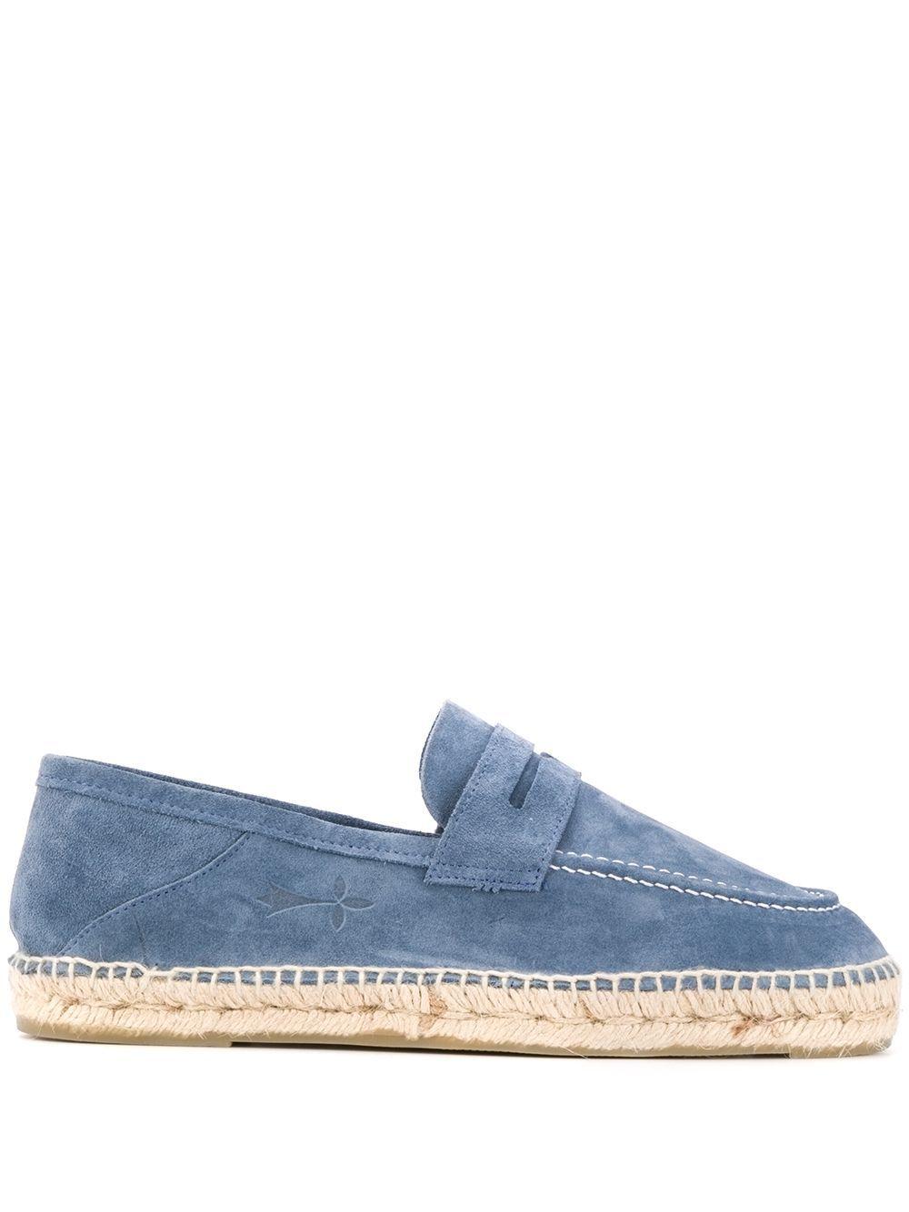Manebi scarpe basse blu