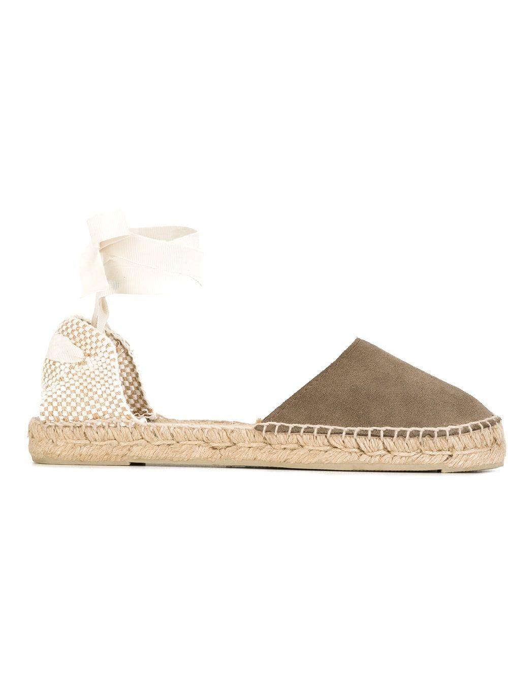 Manebi scarpe basse beige