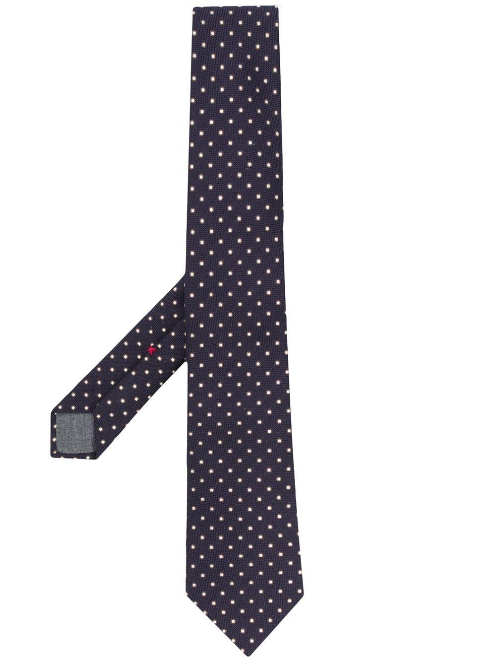 Cravatta in lana misto seta